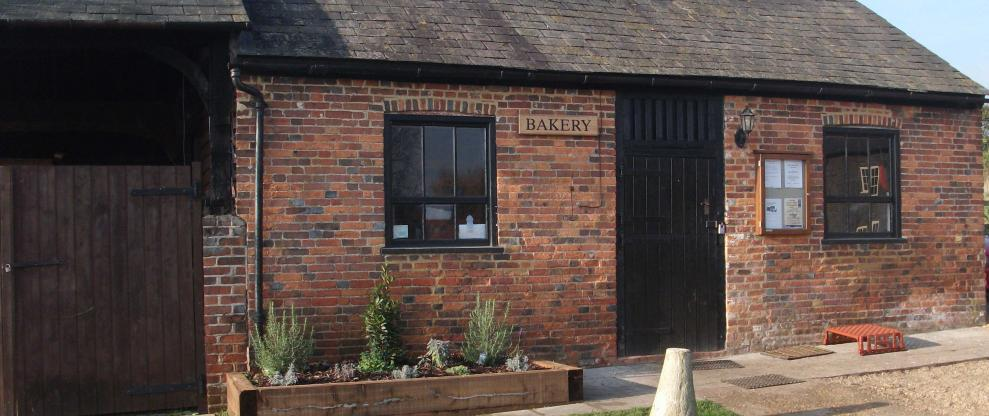 The bakery at Redbournbury Mill