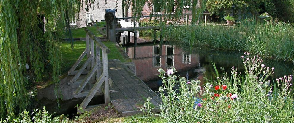 Bypass sluice above Redbournbury Mill